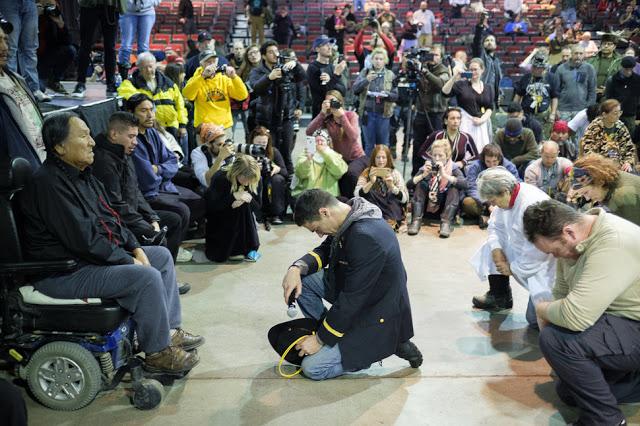 Standing Rock steht für Toleranz, Aussöhnung und Vergebung
