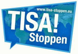 Stopp TiSA! Internationale Demonstration am Sonntag in Genf