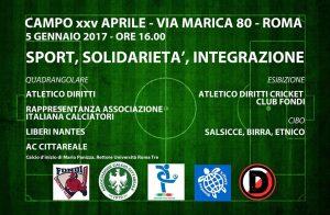 Atletico Diritti e Associazione Italiana Calciatori per la solidarietà