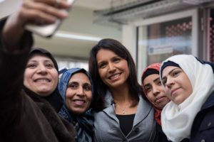 US Congress woman Tulsi Gabbard (D) Visits Syria