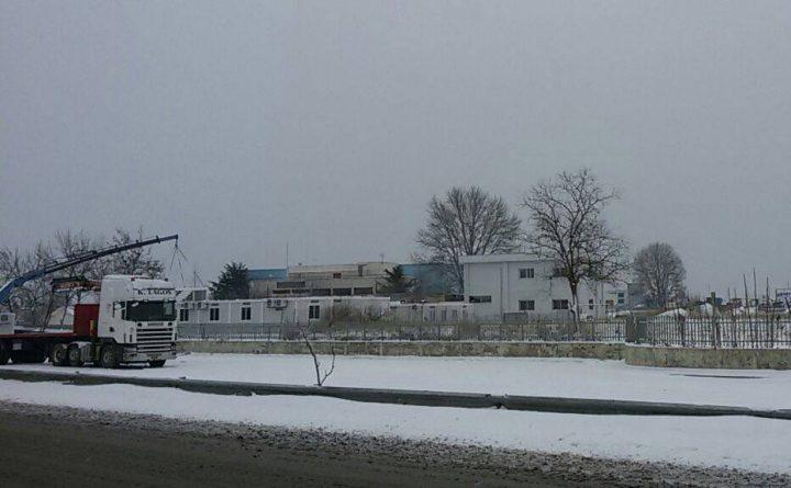 Container Schnee