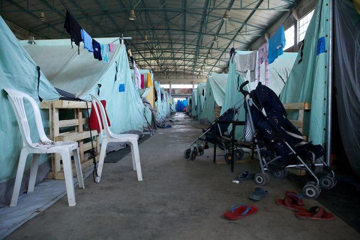 Lager innen Kinderwägen