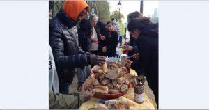 Paris : Quand la solidarité fait boule de neige