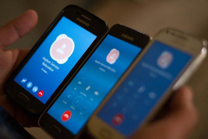 Smartphone Asylum service