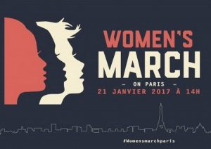 Femmes sans frontières. Women March on Paris 21 janvier