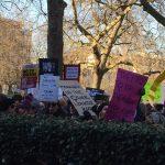 La marche des femmes anti-Trump à Londres