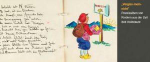 """""""Vergiss-mein-nicht"""": Digitale Ausstellung von Poesiealben von Kindern aus der Zeit des Holocaust"""