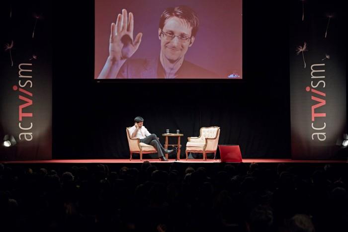 Video: Snowden Event in Munich