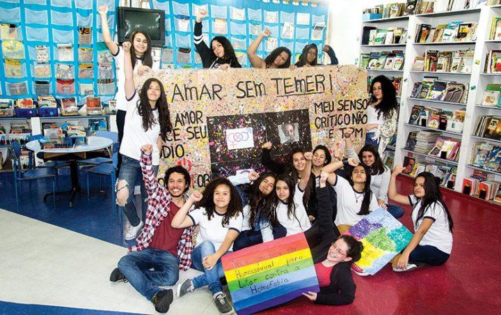 Elas educam a escola contra o machismo, o racismo e a homofobia