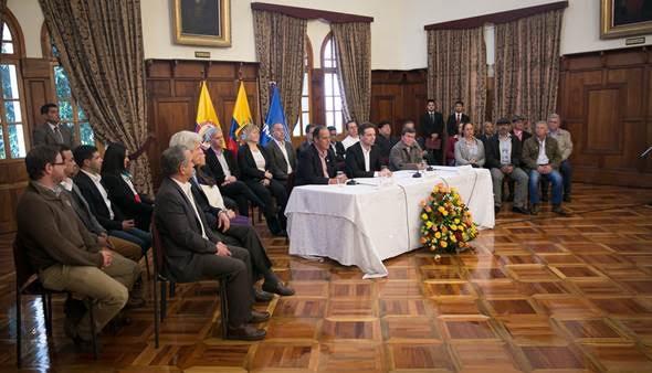 Se anuncia en Quito el inicio de la fase pública de las negociaciones con el ELN