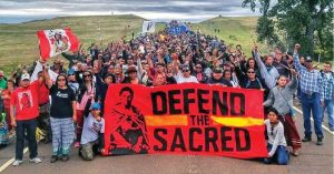 Joseph Hock, Standing Rock activist: spirituality is our movement