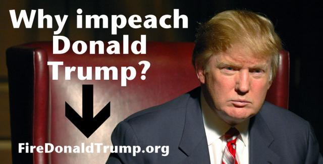 Why Impeach Donald Trump
