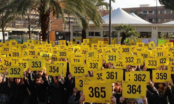 Migliaia di persone in 24 città italiane ricordano Giulio Regeni