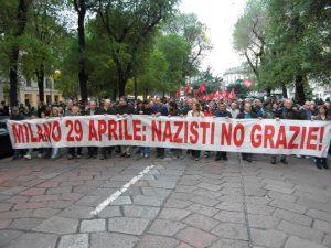 Milano, i nazi all'Arco della Pace e la fine dell'antifascismo istituzionale