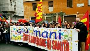 25 gennaio 2017, sciopero dei lavoratori dell'Istituto Superiore di Sanità
