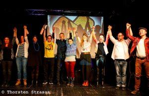 6e édition de CareSlam à Berlin: sur scène, «prendre soin» prend tout son sens
