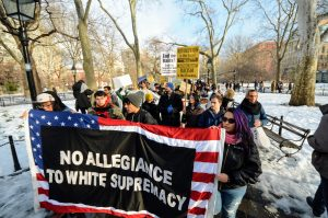 Thousands Demonstrate In Defense Of Immigrants As White House Vows More Deportations