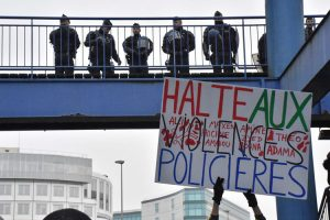 Manifestation en soutien à Théo: un appel persistant pour la justice et le respect.