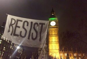 Anti-Trump protests in London and all over the UK