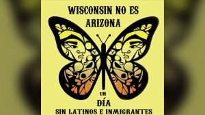 "Milwaukee, March for ""Day Without Latinos, Immigrants and Refugees"""