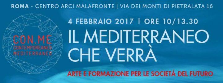 Il Mediterraneo che verrà: arte e formazione per le società del futuro