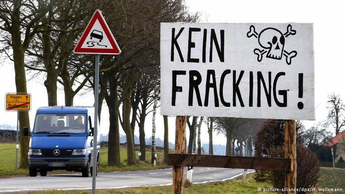 Deutschland, die Fracking-freie Zone
