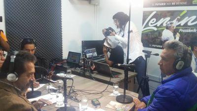 Entrevista exclusiva a Lenín Moreno, candidato a presidente de Ecuador