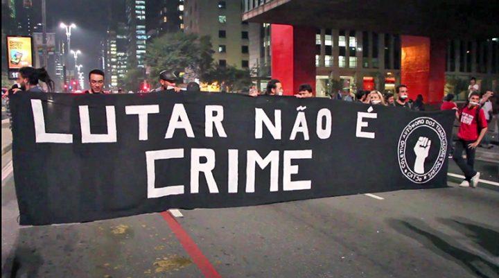 Criminalização de protestos no Brasil é tema de relatório da Artigo 19
