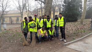 Parma: i migranti protagonisti del decoro urbano