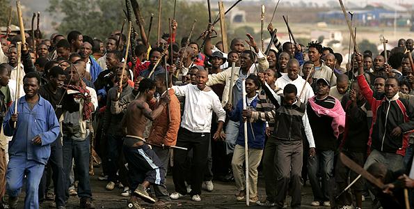 South Africa: Anti-immigrant protests erupt in Pretoria