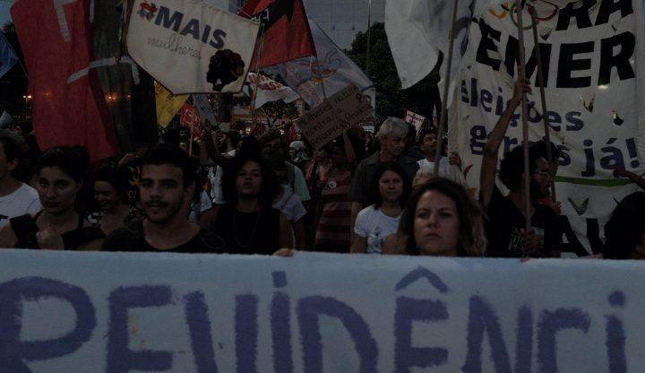 Atos no Brasil contra a Reforma da Previdência