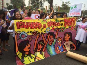 Día Internacional de la Mujer: en Lima también marchamos