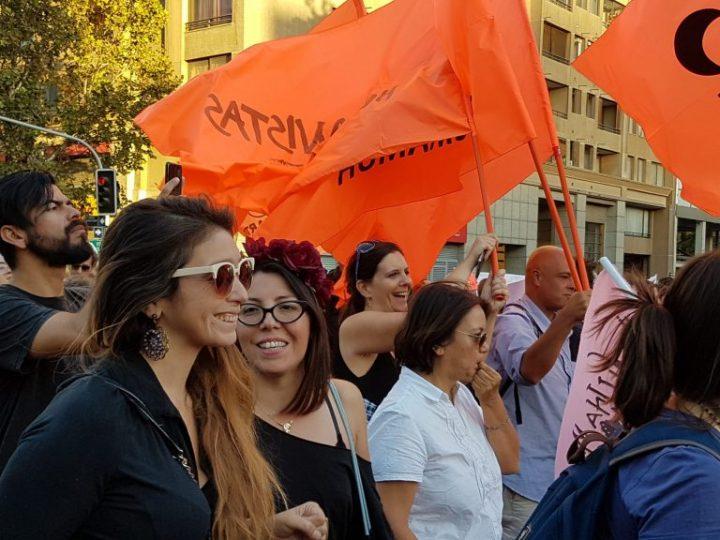 Marcharon, cantaron, hicieron música, las mujeres humanistas
