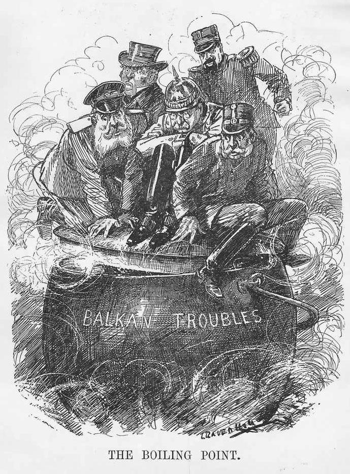 """Un Consiglio per i Balcani, ovvero: """"The Boiling Point"""""""