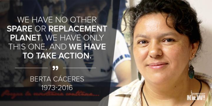 Honduras: Berta non è morta, si è moltiplicata