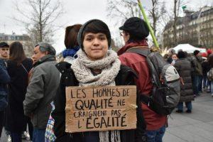 [Reportage photo] Journée internationale des droits des femmes