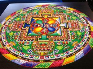 """Mandala """"non una di meno"""". Opera condivisa contro la violenza sulle donne"""
