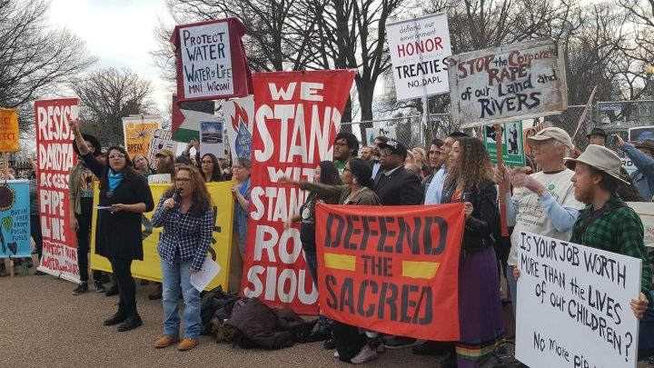 Indigenous peoples and their allies will march on Washington D.C. on March 10th