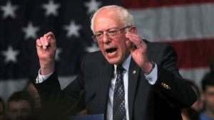 Bernie Sanders responds forcefully to Trump's speech