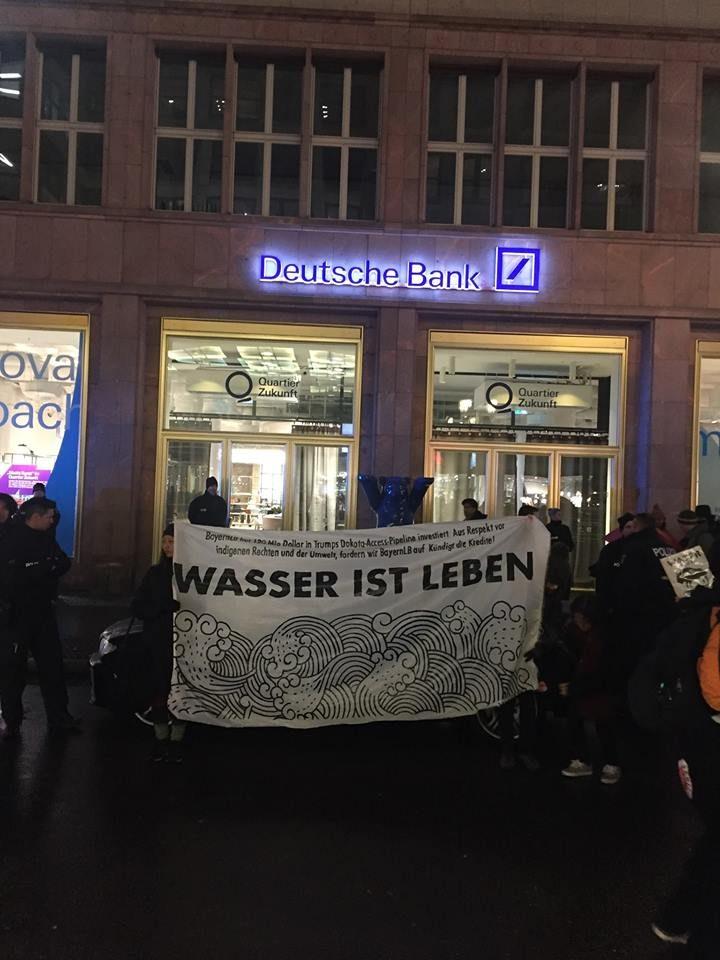 Online-Protest am 30. März: Deutsche Bank soll aus der Dakota Access Pipeline aussteigen!