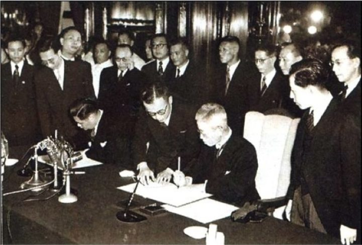 Peace Between China and Japan (and the three Chinese revolutions)
