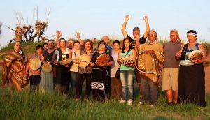 Los Toldos: mapuches recuperan su cementerio ancestral