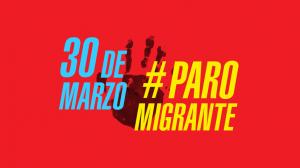 30 de marzo #ParoMigrante en Argentina