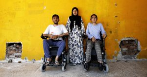 Famiglia di rifugiati curdi siriani si ricongiunge in Germania