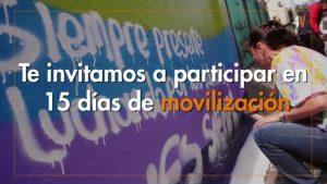 15 días de movilización por el fin de la violencia de género en los  espacios educativos