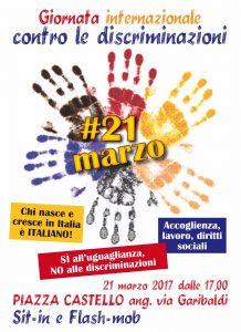 Torino mano nella mano contro il razzismo e discriminazioni