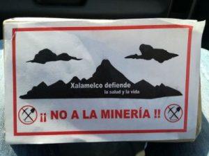 México: Xalamelco resiste y le dice NO a la Minera Autlán