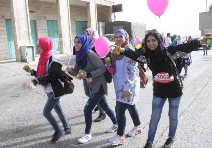 A Marathon in Bethlehem – rather a promenade for the right to movement