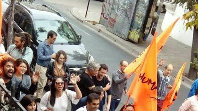 Partido Humanista recibe a Beatriz Sanchez