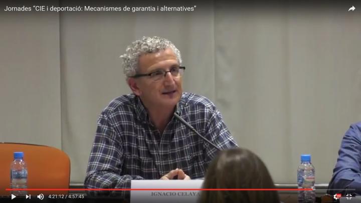 """Jornadas """"CIE y deportación: Mecanismos de garantía y alternativas"""""""